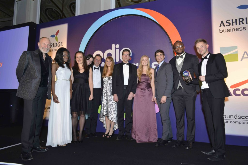 Edie Sustainability Awards 2015The Grand Connaught Rooms,London.