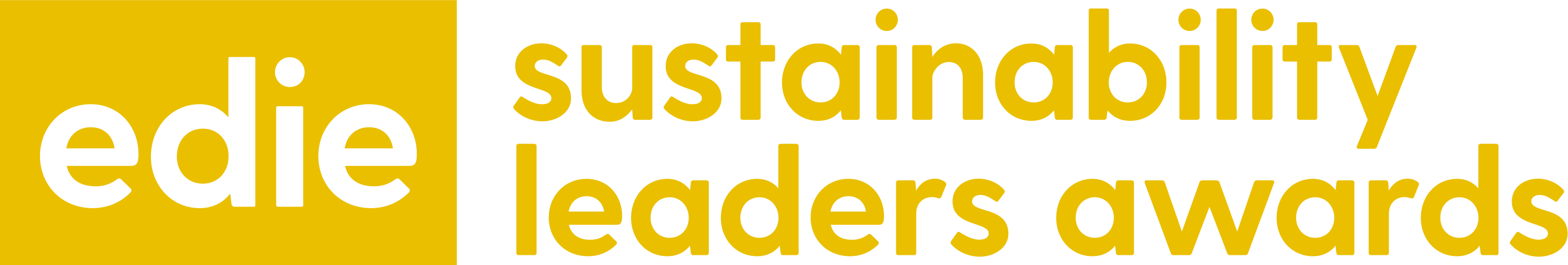 edie Sustainability Leaders Awards 2020