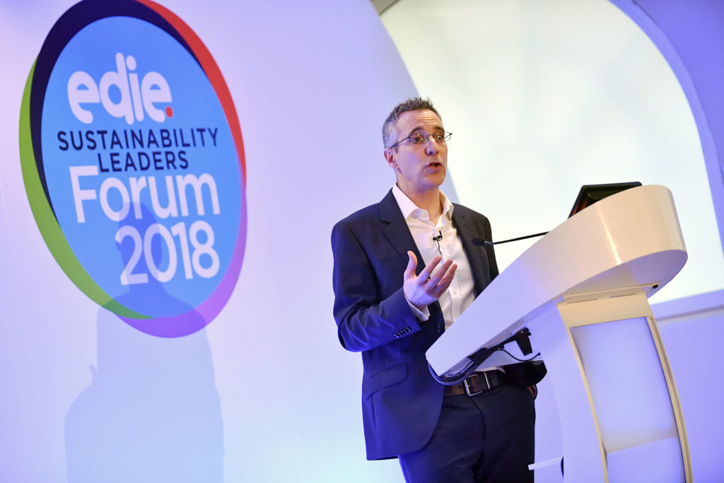 Edie Sustainability Leaders Forum 2018.