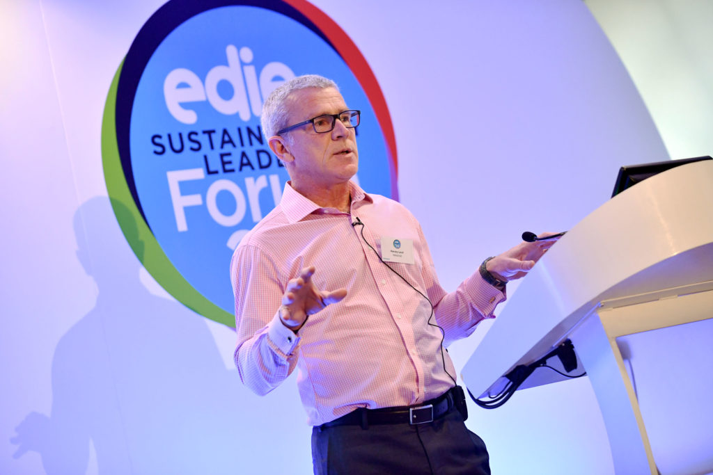Harvey Laud (Helistrat). Edie Sustainability Leaders Forum 2018.
